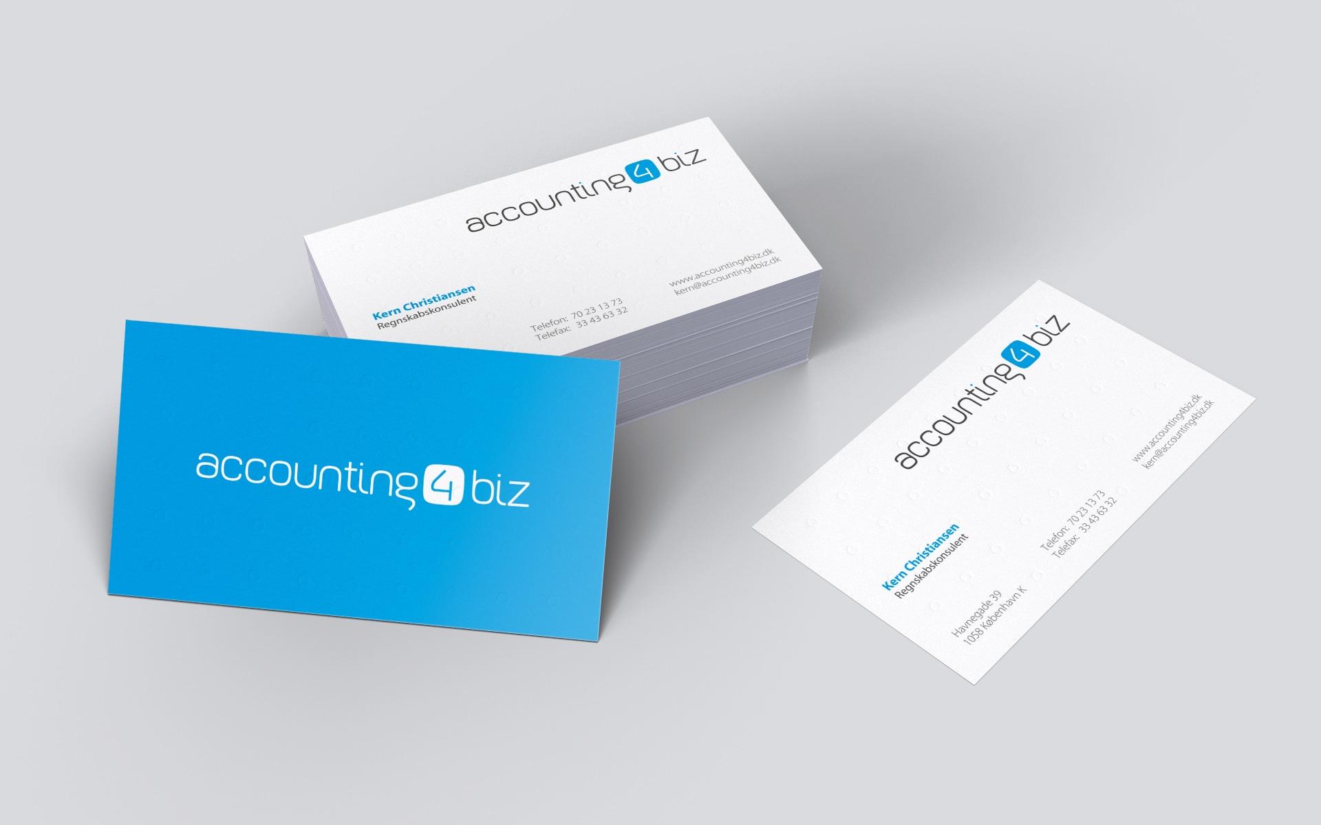 accounting4biz: Visitenkarten