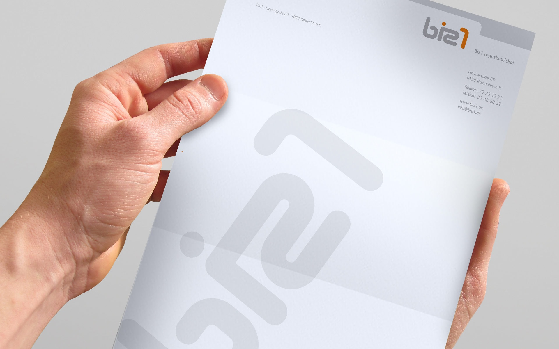 Briefbogen biz1 Corporate-Design