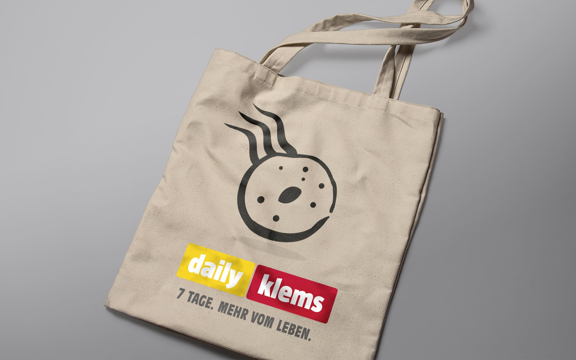 Daily-Klems Jutetasche