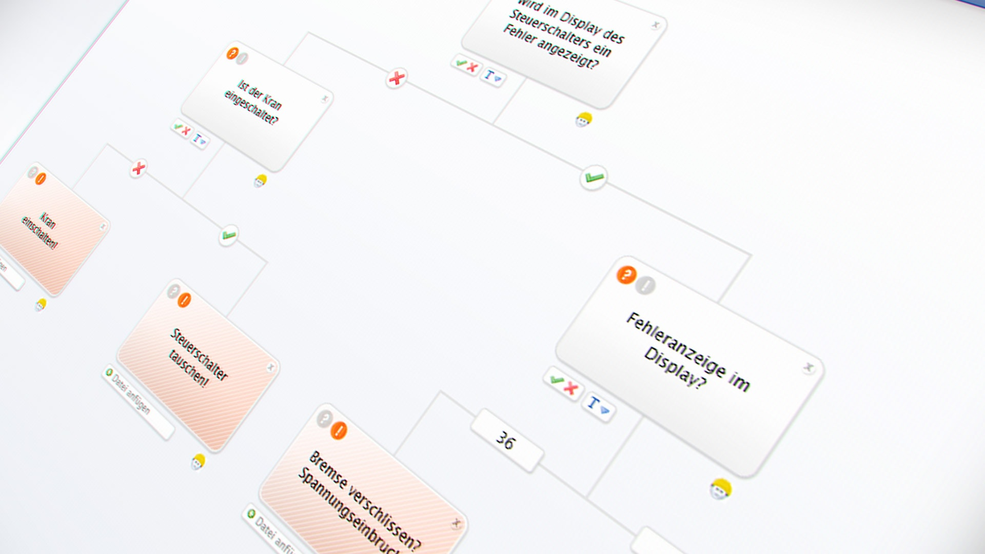 Backend: Ablaufdiagramm Diagnose-Software Demag Troubleshooting