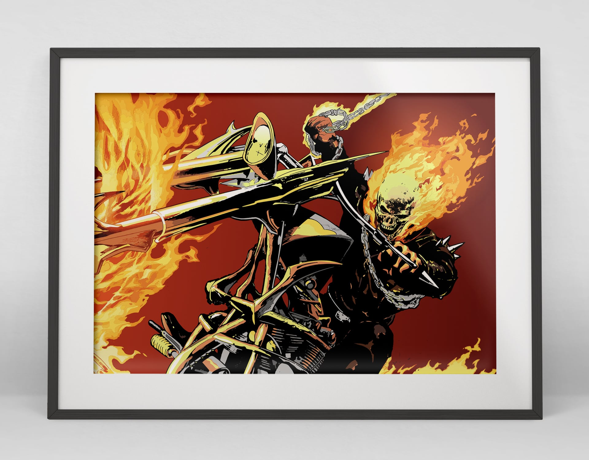 Ghostrider Illustration
