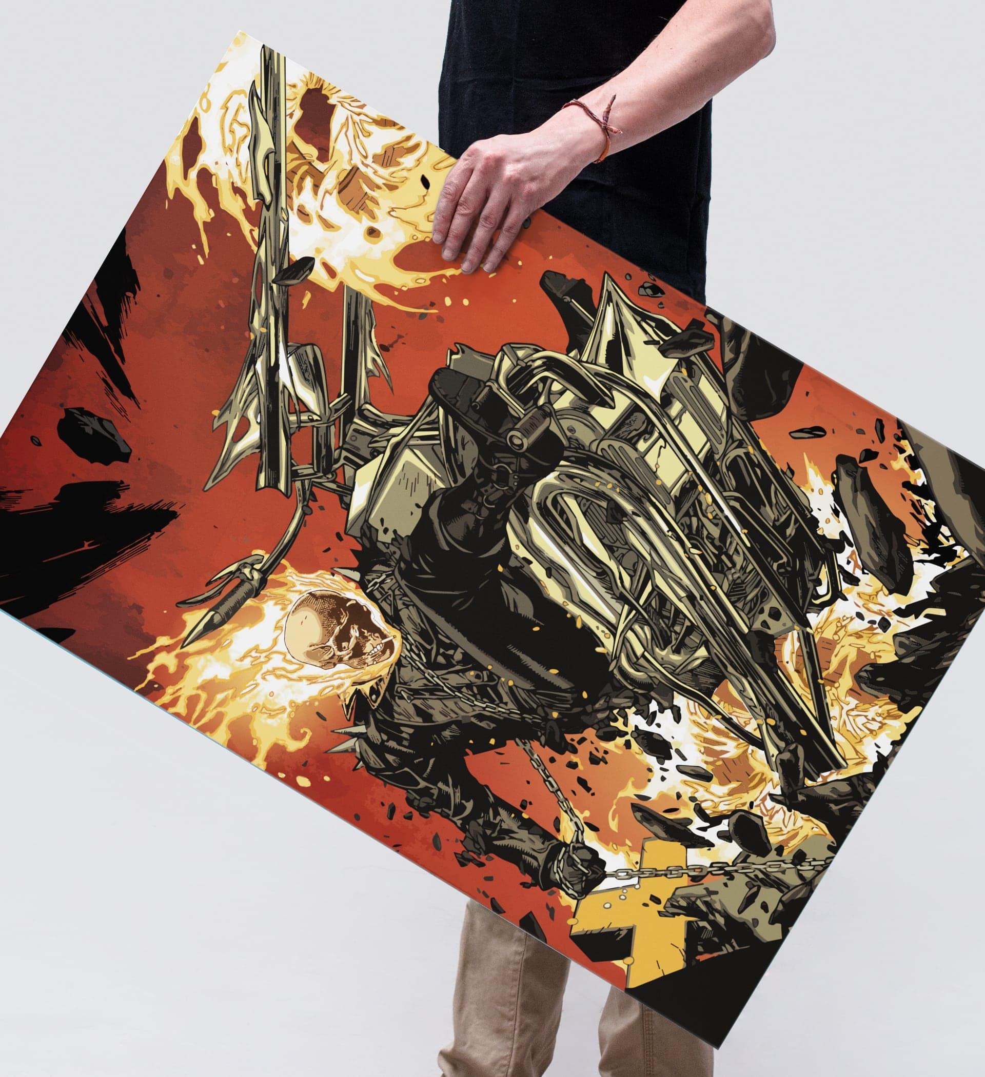 Ghostrider Illustration