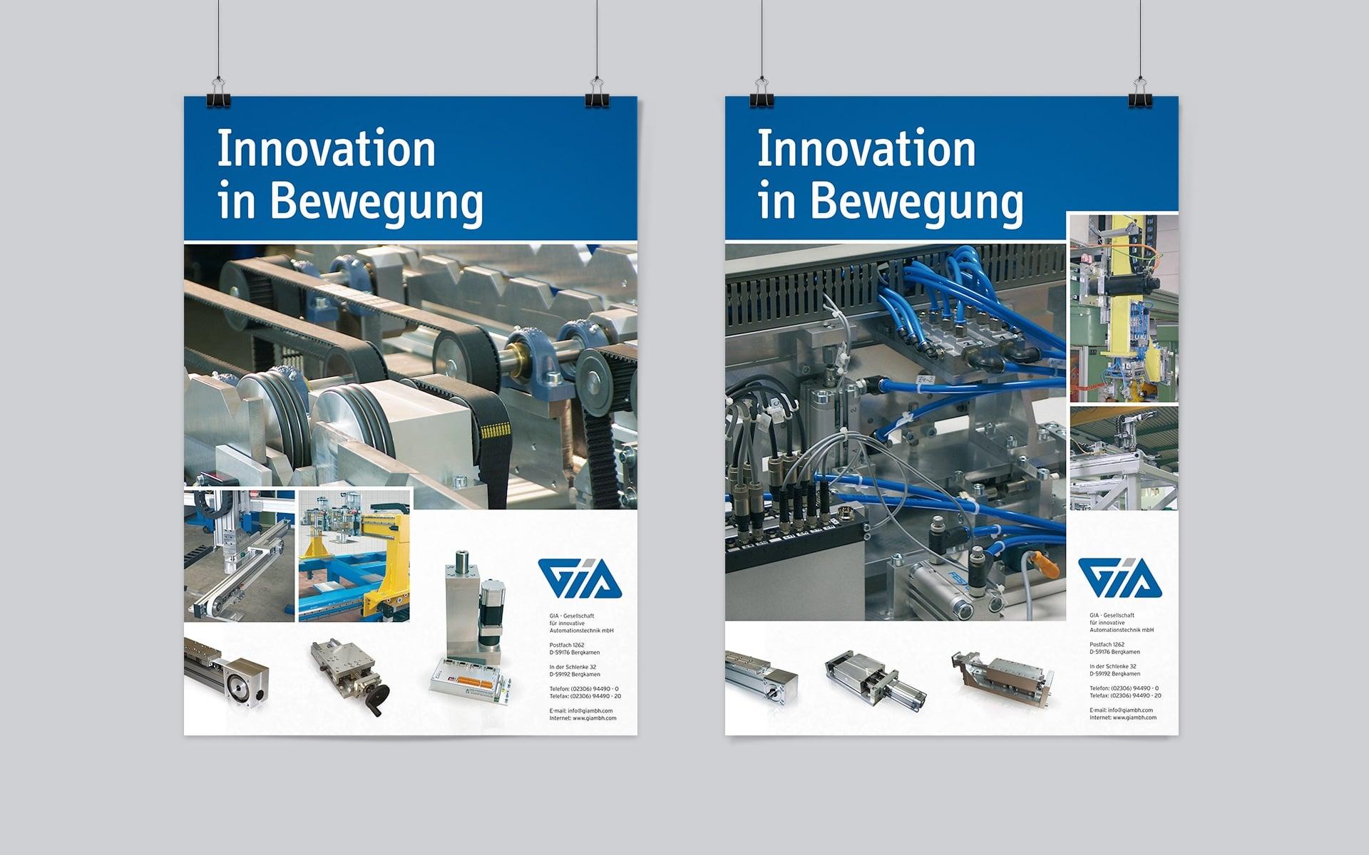 GIA Corporate-Design Poster-Designs