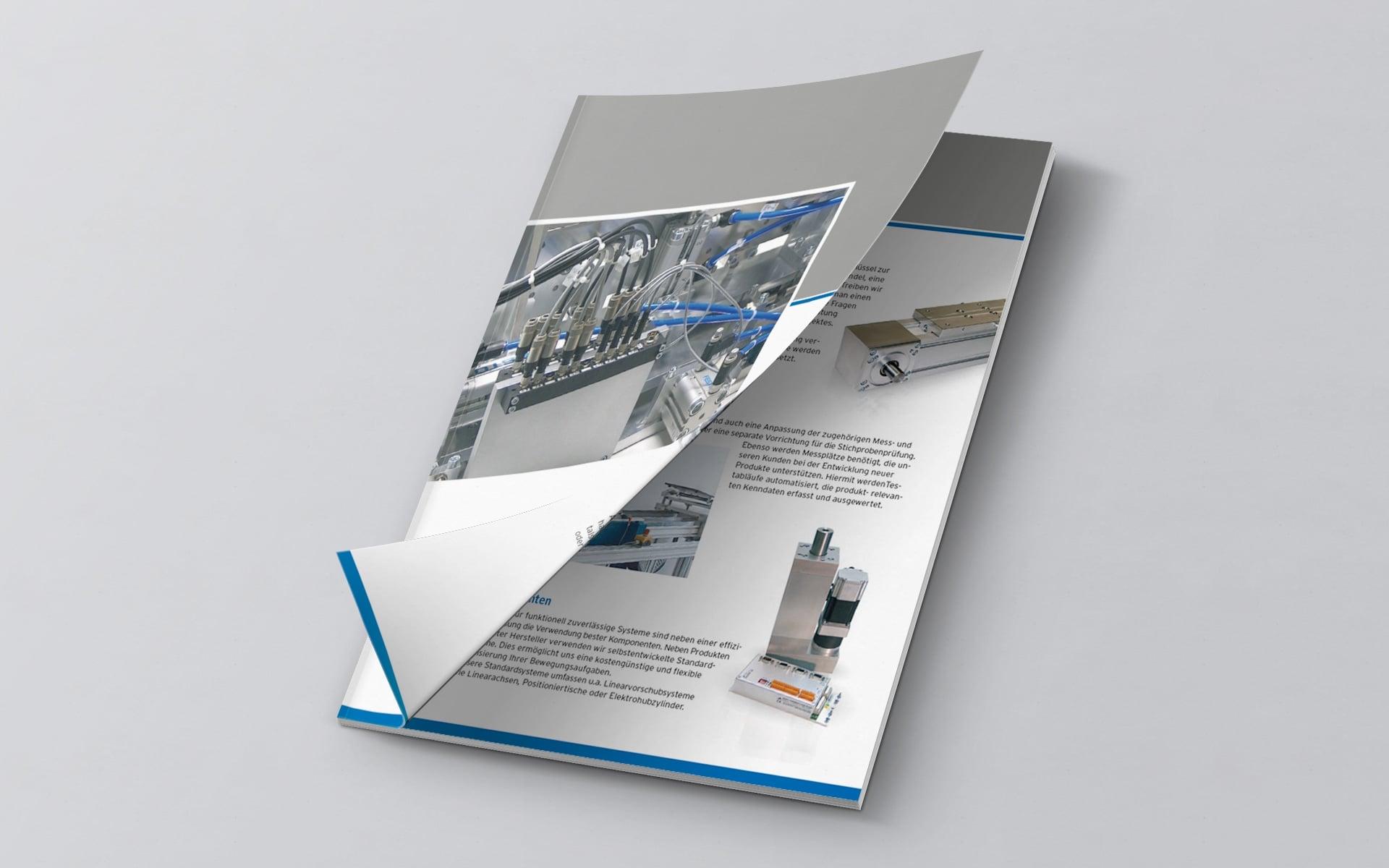 GIA Corporate-Design Broschüre