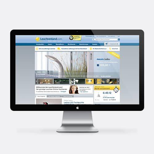 Leuchtenland Online-Shop