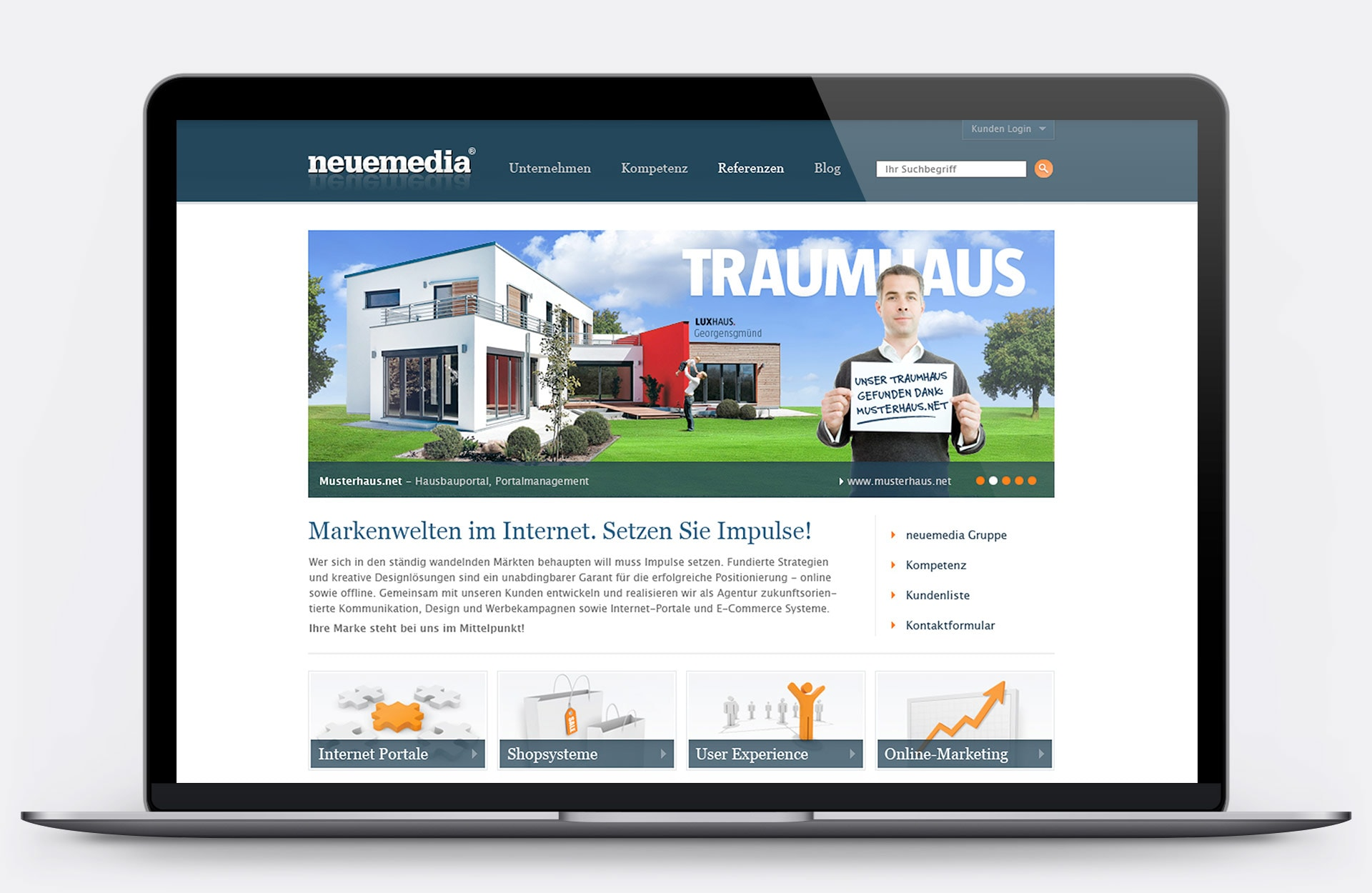 neuemedia Website