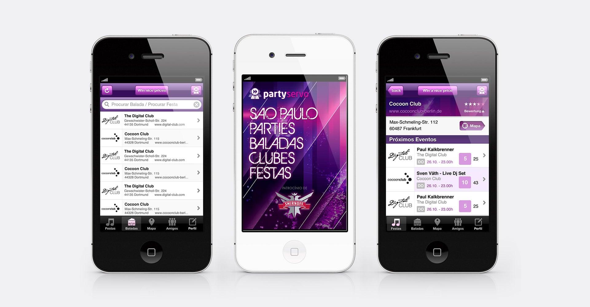 App-Designs partyservo