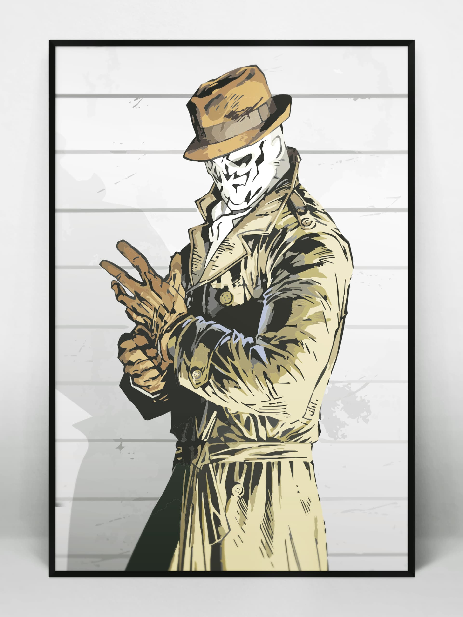 Rorschach Illustration