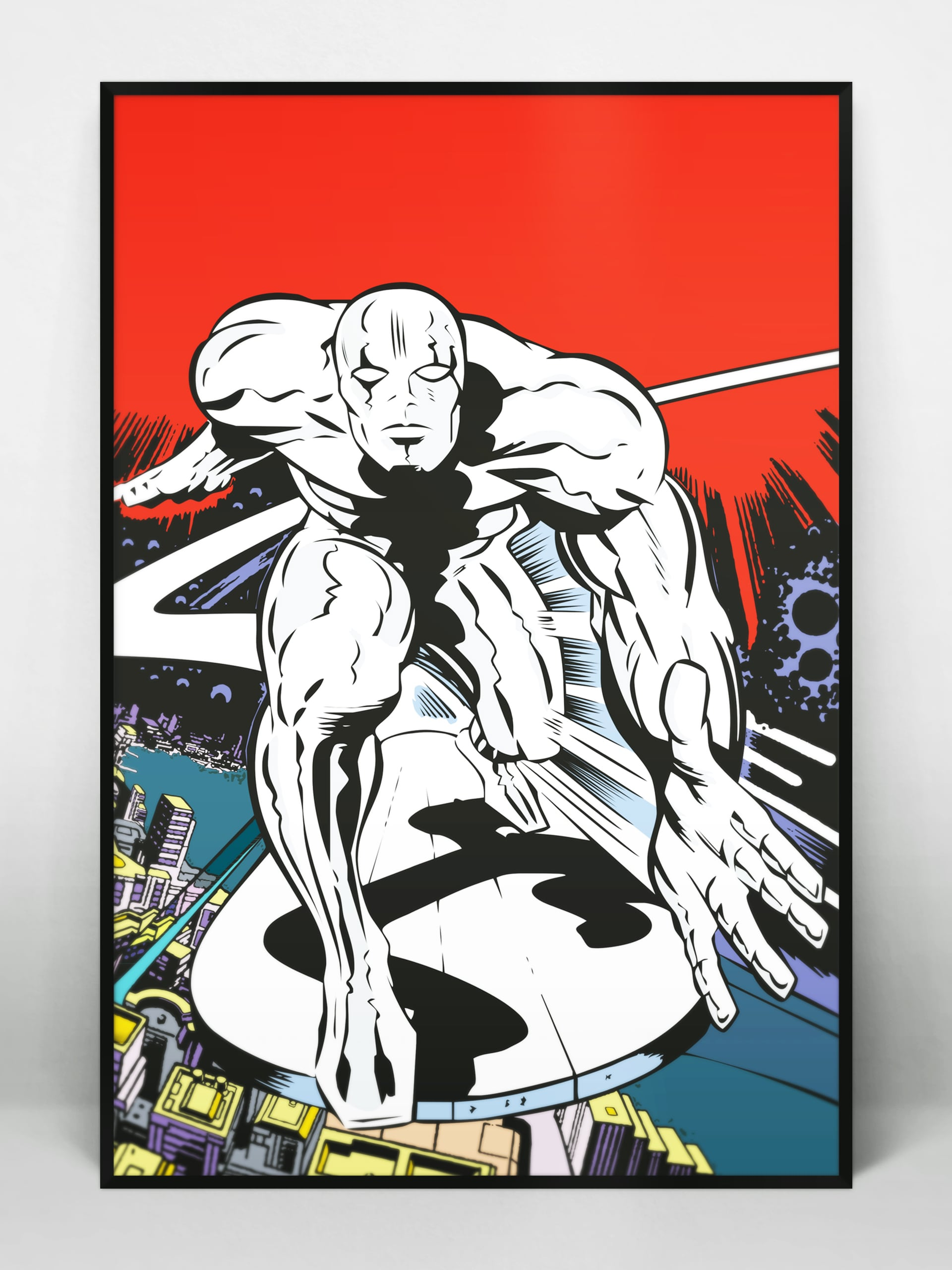 Silver Surfer Illustration
