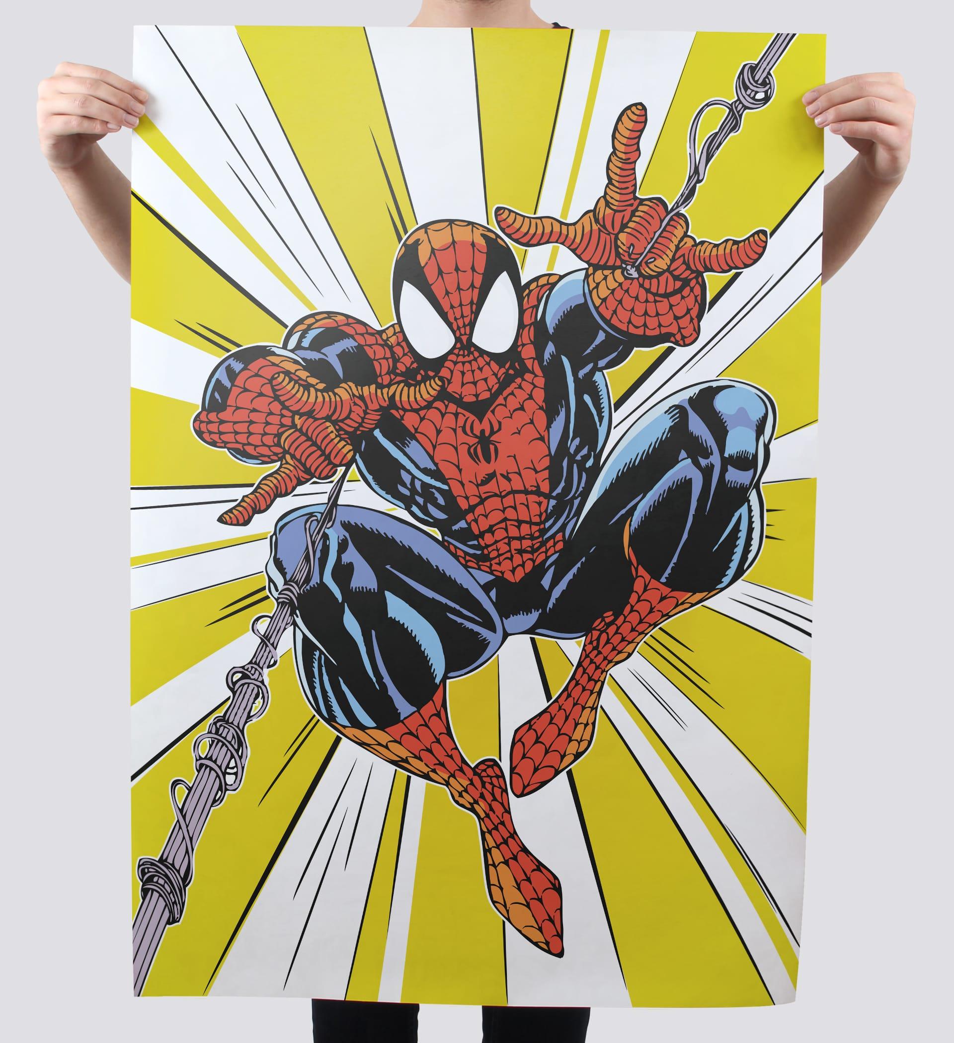 Gestaltung Spiderman Poster