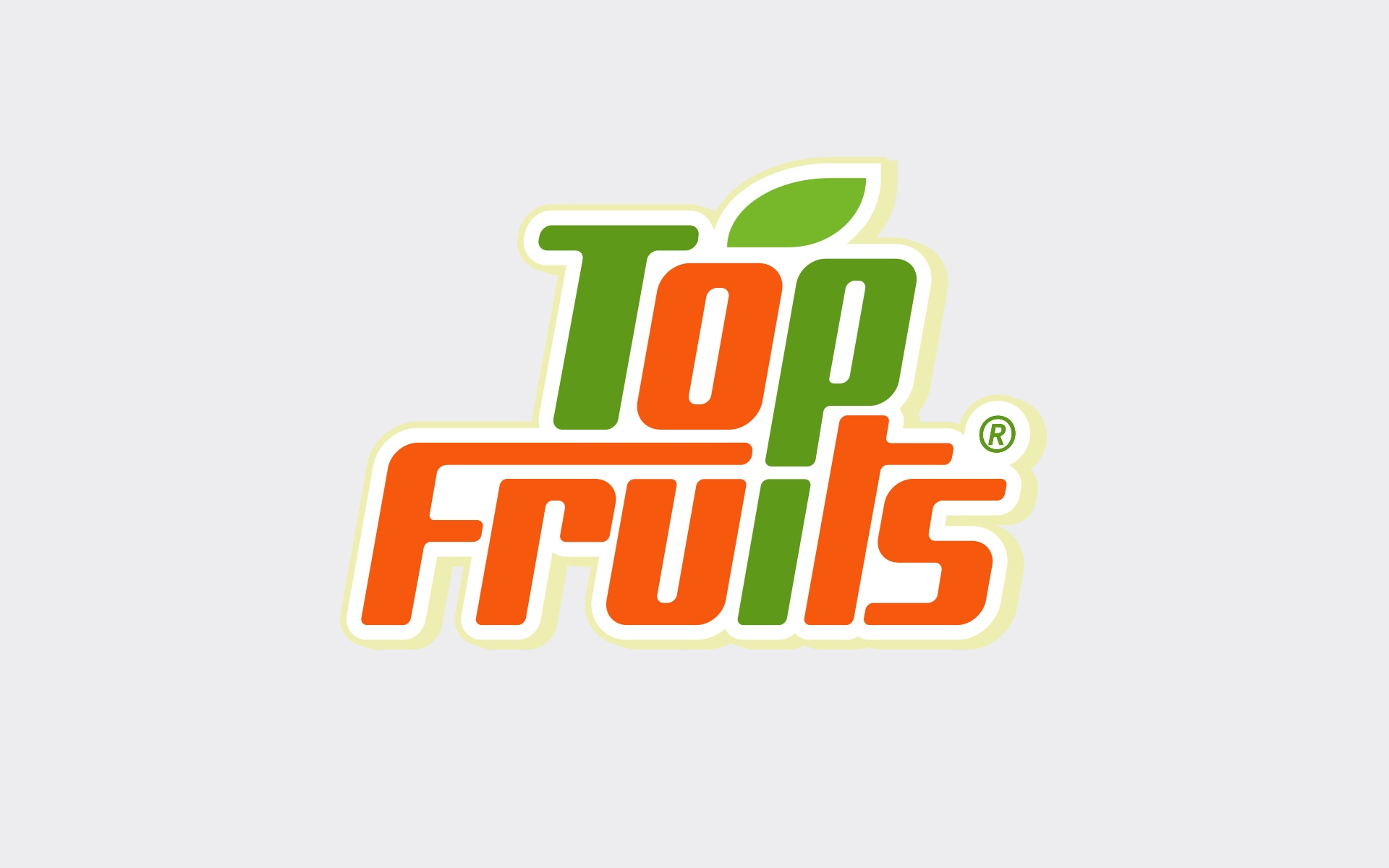 Top-Fruits Logo-Konzeption